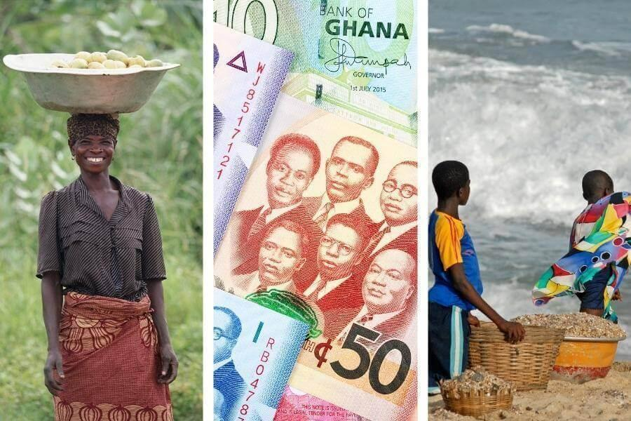 What's the currency in Ghana