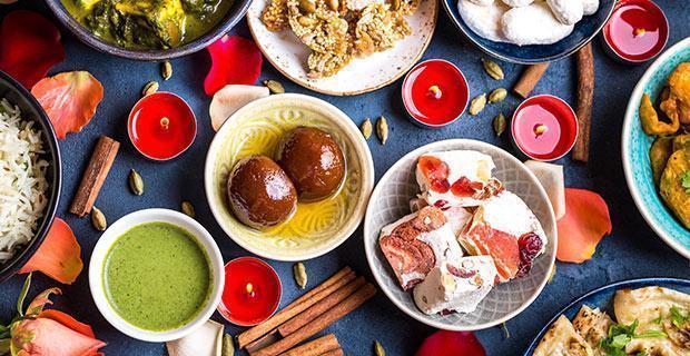plats pour le Diwali