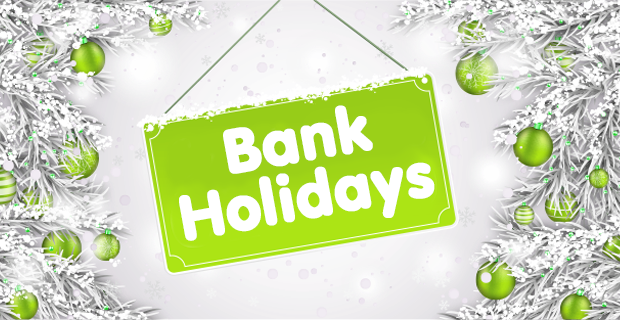 Christmas UK Bank Holidays