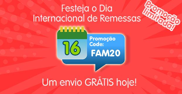 Feliz Dia internacional das Remessas Familiares!